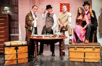 Le secret de Sherlock Holmes - Christophe Guillon - Théâtre des Corps Saints